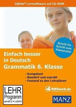Einfach besser in Deutsch Grammatik 6. Klasse. Windows Vista/XP/2000/ME/98