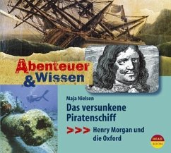 Das versunkene Piratenschiff, Audio-CD - Nielsen, Maja