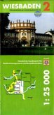 Topographische Freizeitkarte Hessen (1 : 25.000) - Wiesbaden