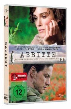 Abbitte, 1 DVD - Keira Knightley,James Mcavoy,Brenda Blethyn