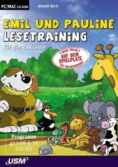 Emil und Pauline: Lesespiele für die 1. und 2. Klasse (PC+Mac)