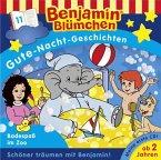 Benjamin Blümchen, Gute-Nacht-Geschichten - Badespaß im Zoo, 1 Audio-CD