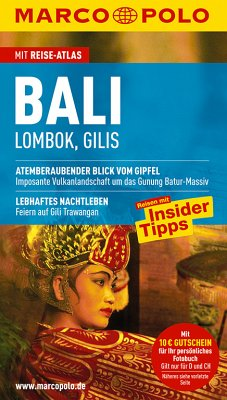 MARCO POLO Reiseführer Bali - Lombok, Gilis - Schott, christina