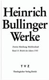 Heinrich Bullinger Werke 13
