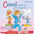 Conni schläft im Kindergarten / Conni geht in den Zoo, Audio-CD