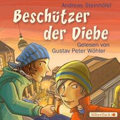 Beschützer der Diebe, 4 Audio-CDs - Steinhöfel, Andreas