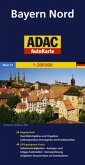 ADAC AutoKarte Bayern Nord