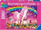 Ravensburger 13927 - Pferdetraum, 100 Teile XXL Glitter Puzzle