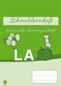 Schreiblernheft Lateinische Ausgangsschrift - Morgenthau, Lena