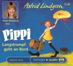 Pippi Langstrumpf geht an Bord, 3 Audio-CDs - Lindgren, Astrid