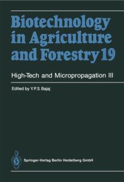 High-Tech and Micropropagation III - Bajaj, Y. P. S.