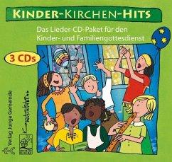 Kinder-Kirchen-Hits, 3 Audio-CDs