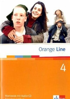 Orange Line 4. Erweiterungskurs Klasse 8. Workbook mit Audio-CD