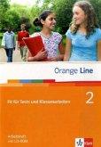 Orange Line 2. 6. Klasse - Fit für Tests und Klassenarbeiten