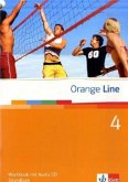Orange Line 4. Grundkurs Klasse 8. Workbook mit Audio-CD