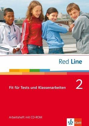 red line 2 fit f r tests und klassenarbeiten mit cd rom schulb cher portofrei bei b. Black Bedroom Furniture Sets. Home Design Ideas