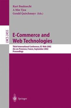 E-Commerce and Web Technologies - Bauknecht, Kurt / Tjoa, A Min / Quirchmayr, Gerald (eds.)