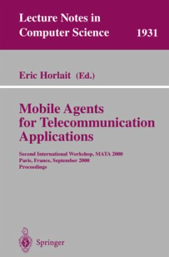 Mobile Agents for Telecommunication Applications - Horlait, Eric (ed.)