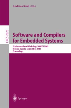 Software and Compilers for Embedded Systems - Krall, Andreas (ed.)