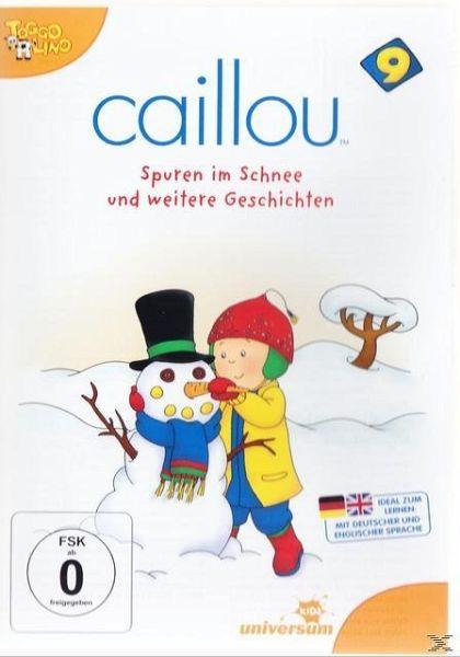 caillou 09 spuren im schnee und weitere geschichten auf dvd portofrei bei b. Black Bedroom Furniture Sets. Home Design Ideas