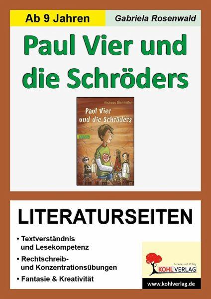 Literaturseiten zu 'Paul Vier und die Schröders' - Thiel-Mathieu, Ulrike
