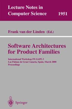 Software Architectures for Product Families - Linden, Frank van der (ed.)
