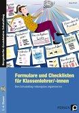 Formulare und Checklisten für Klassenlehrer/-innen
