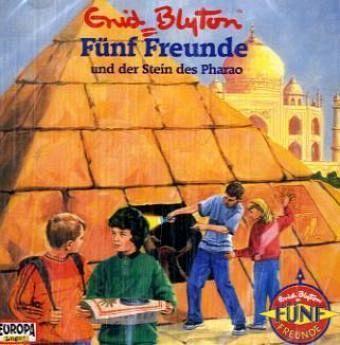 Fünf Freunde und der Stein des Pharao / Fünf Freunde Bd.63 (1 Audio-CD) - Blyton, Enid