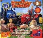 Kleiner Roter Traktor - Ein schönes Schlammwetter und 5 weitere Abenteuer, 1 Audio-CD