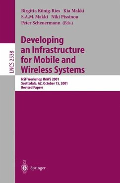 Developing an Infrastructure for Mobile and Wireless Systems - König-Ries