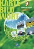 Schleswig-Holstein. Karte Bild Wort. Grundschulatlanten. Arbeitsheft