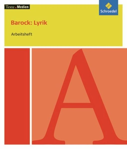 Barock: Lyrik - Arbeitsheft