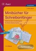 Minibücher für Schreibanfänger