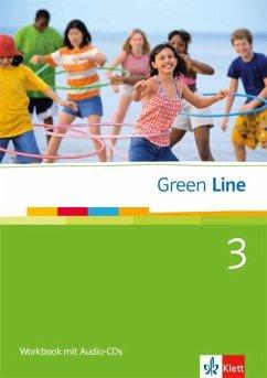 Green Line 3. Workbook mit Audio CD - Horner, Marion