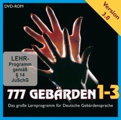 777 Gebärden V3.0. Tl.1-3, 1 DVD-ROM