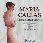 Maria Callas, Her Greatest Operas, 10 Audio-CDs