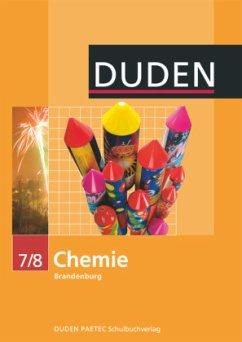 Chemie 7/8 Lehrbuch /Duden. Brandenburg