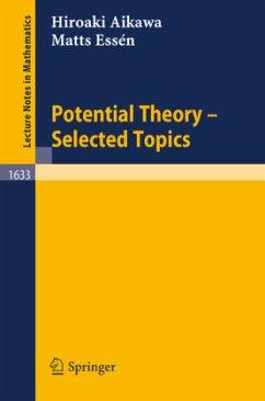 Potential Theory - Selected Topics - Aikawa, Hiroaki; Essen, Matts