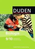 Biologie 9/10 Lehrbuch. Brandenburg Gymnasium