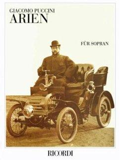 Arien für Sopran, für Gesang und Klavier, Klavierpartitur