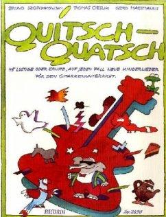 Quitsch-Quatsch, für Gitarre