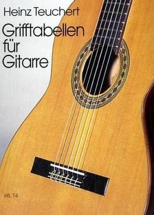 Grifftabellen für Gitarre - Teuchert, Heinz