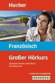 Großer Hörkurs Französisch, 8 Audio-CDs + Begleitheft