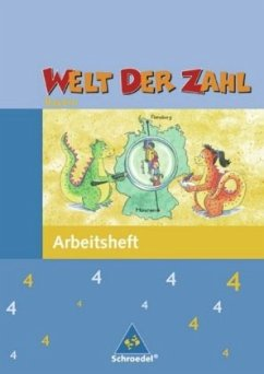 Welt der Zahl 4. Arbeitsheft. Bayern