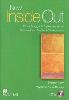 New Inside Out Elementary. Workbook with Audio-CD and Key - Kay, Sue; Jones, Vaughan