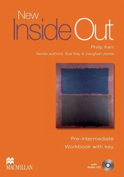 New Inside Out Pre-Intermediate. Workbook with Audio-CD and Key - Kay, Sue; Jones, Vaughan