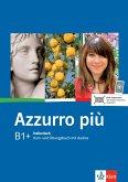 Azzurro più. Lehr- und Arbeitsbuch + CD