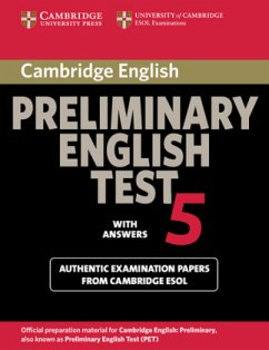 Student's Book with answers / Cambridge Preliminary English Test, New Edition Vol.5