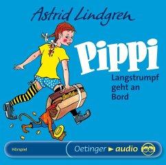Pippi Langstrumpf geht an Bord, 1 Audio-CD - Lindgren, Astrid