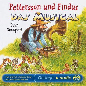 pettersson und findus das musical 1 audio cd von sven. Black Bedroom Furniture Sets. Home Design Ideas